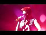Adam Lambert &amp Queen Fat Bottomed Girls The Palace