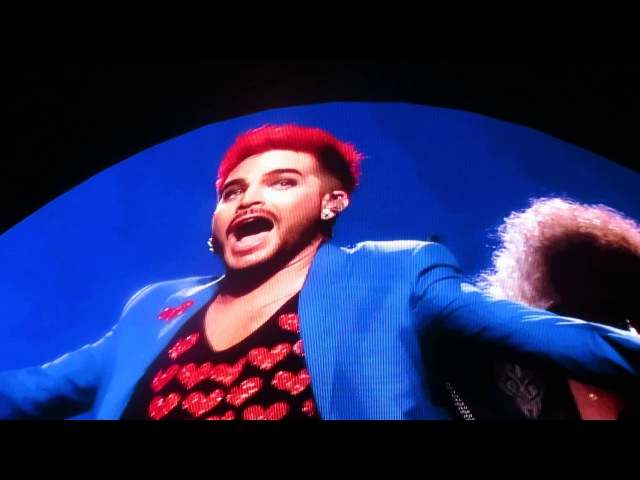 Adam Lambert Queen *** Somebody To Love *** The Palace