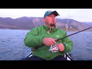 На пилькеры с каяка в Черном море