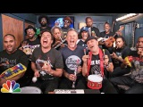 Jimmy Fallon, Metallica The Roots Sing