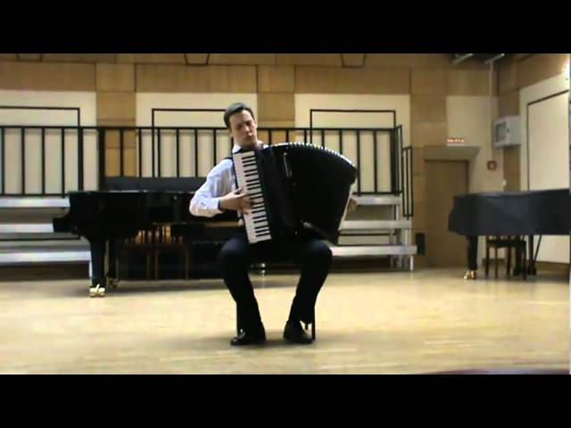 A.Kusyakov - Sonata №2 (2-3 part) MIKHAIL SHOSTAK (accordion)
