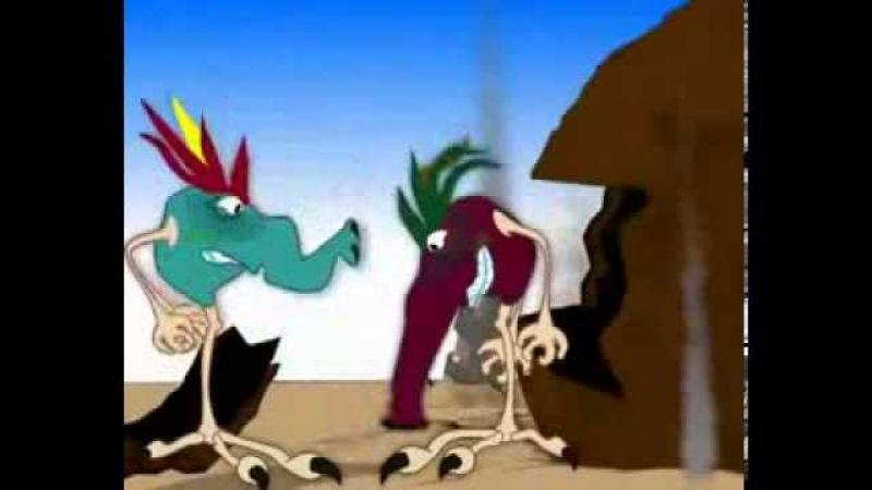 Мульт про гуманоидов - рептилоидов - захватчиков