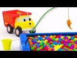 Рыбалка: учим цвета вместе с грузовичком Игорем | Развивающий мультик для детей