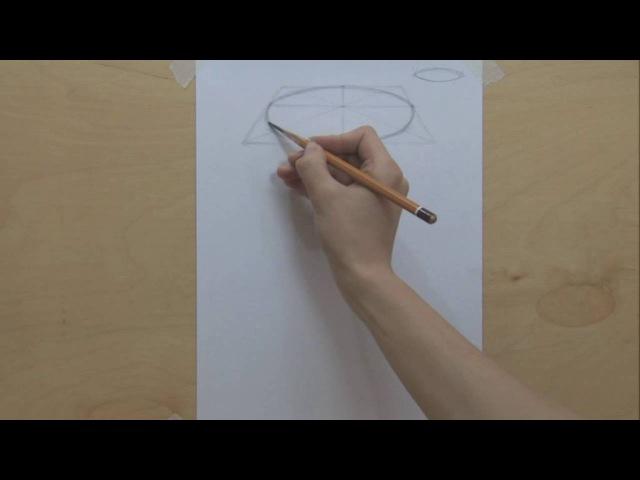 4 Построение эллипса Учимся рисовать