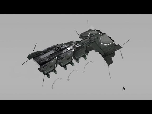 EVE Online: Re-designing the Cormorant Destroyer