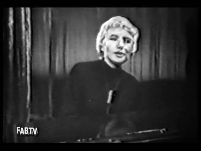 Blossom Dearie digs the Surrey With The Fringe On Top ◊ 1961
