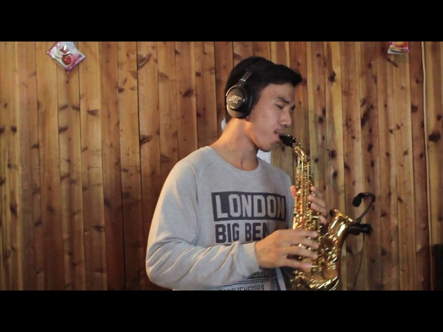 Medley OST Chibi Maruko Chan Shinchan - curved soprano saxophone cover by Desmond Amos