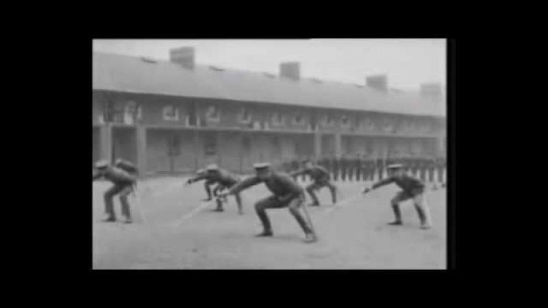 Cavalry charge with a point training. Тренировка кавалерийской атаки уколом