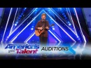 Chase Goehring Cute Singer Mixes Musical Styles With Original Song America's Got Talent 2017