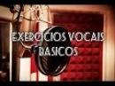 Exercício Vocal para inicio do Canto - Aquecimento Vocal Pratico Afinação parte 1