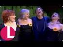 Ross King Joins Gary Barlow and the Ladies of The Girls Onstage! | Lorraine