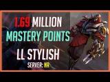 Zed Montage 60 - LL Stylish ZED MAIN - 1.69 MILLION MASTERY POINTS - League of Legends