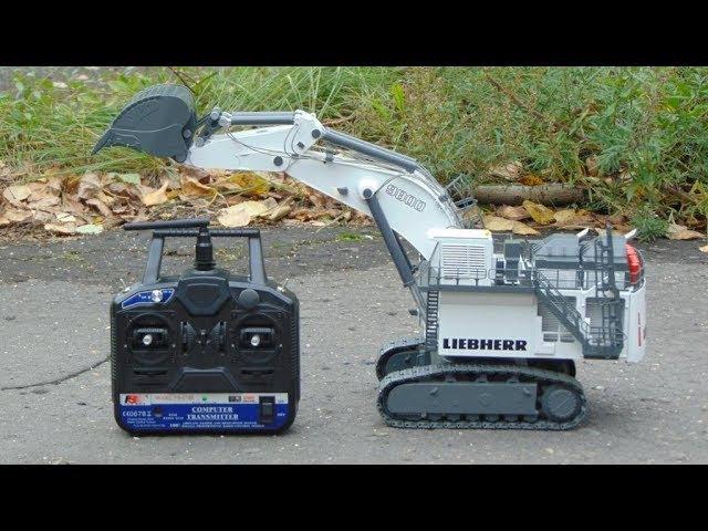 Как сделать гидравлику на RC модель RC экскаватор LIEBHERR R 9800 Litronic