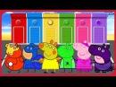 Свинка Пеппа новая серия 2017 на Русском языке Свинка Пеппа супер герои учим цвета