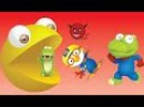 Learn Colors With Pacman ( 팩맨 ) And Pororo ( 뽀로로 ) Cartoon For Kids - Hand Colors TV