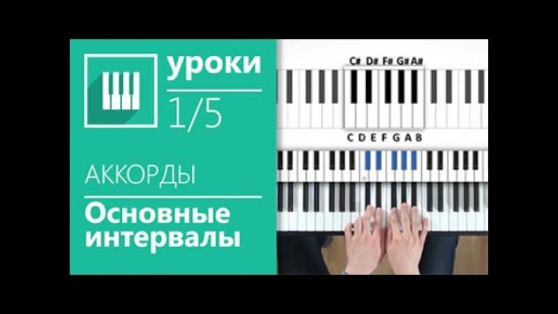 Аккорды на пианино (1/5) - Основные интервалы (its-easy.biz)
