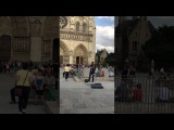 Viktor Angelov - DESPACITO violin cover - Notre Dame Cathedral, Paris