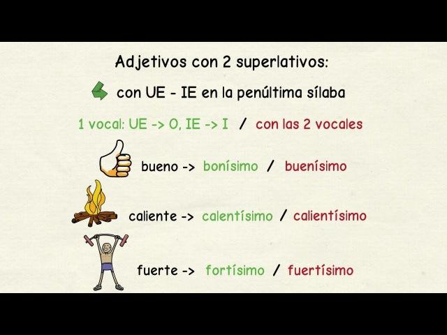 Aprender español: Superlativos irregulares y especiales (nivel avanzado)