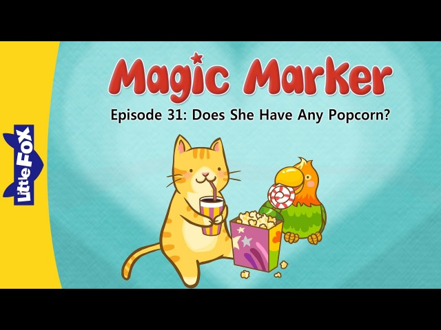 Magic Marker 31: Does She Have Any Popcorn? | Level 2 | By Little Fox