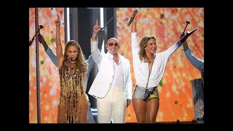 Pitbull ft. Jennifer Lopez Claudia Leitte - We Are One (Ole Ola) Billboard Music Awards 2014
