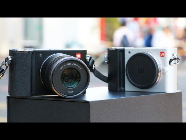 Обзор камеры Yi M1 - первый фотик Xiaomi