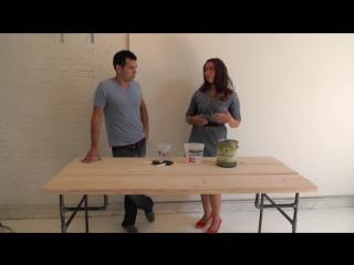 HomeMade Modern, Episode 3 - DIY Wood Iron Table