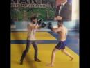 Тренировка бойца М-1 Адама Цурова (Ингушетия)