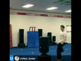 Miles Brew, stunt master