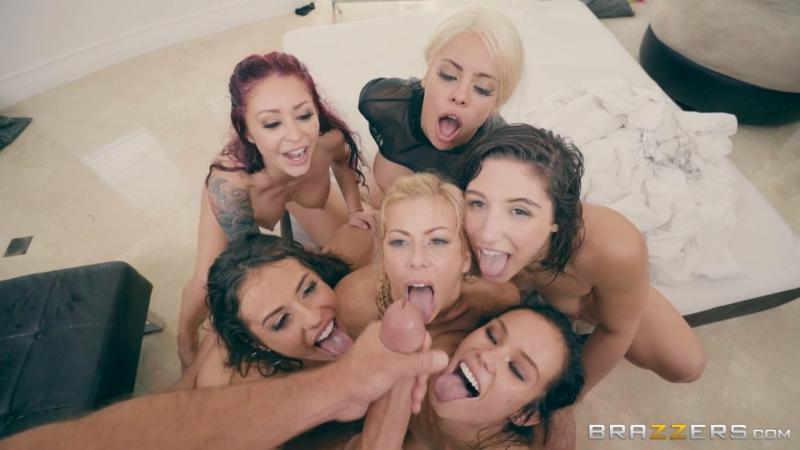 Abella Danger, Alexis Fawx, Keisha Grey, Kelsi Monroe, Luna Star, Megan Rain, Monique, Nicole Aniston,