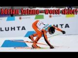 Адриан Солано худший лыжник в истории Чемпионата Мира стал звездой Интернета [Часть 1]