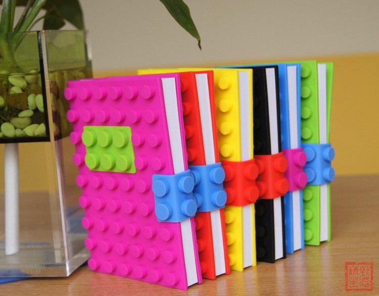 Блокнот в стиле Lego