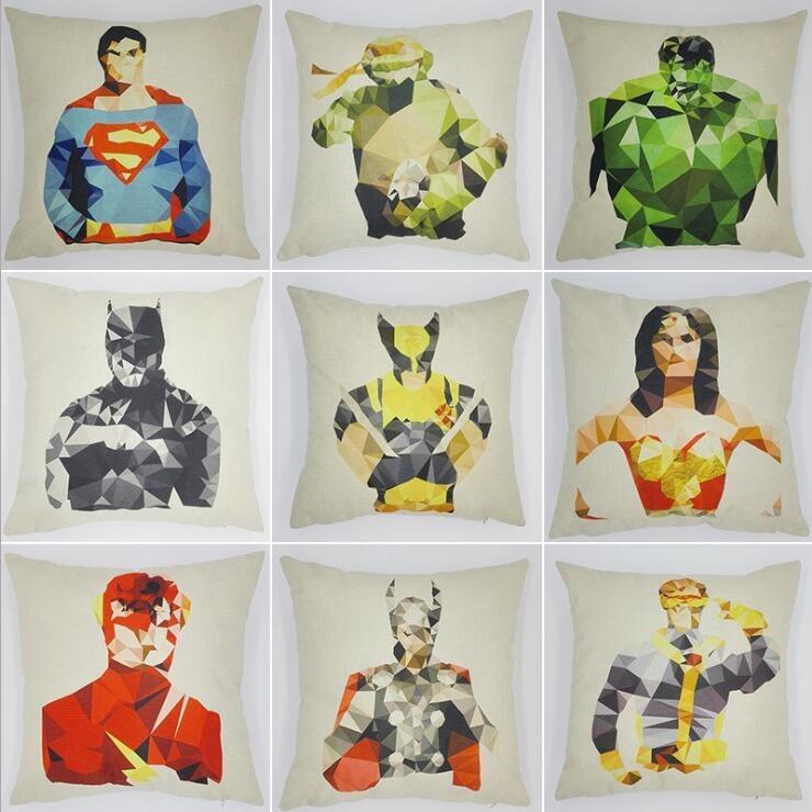 Супергеройские наволочки для подушек