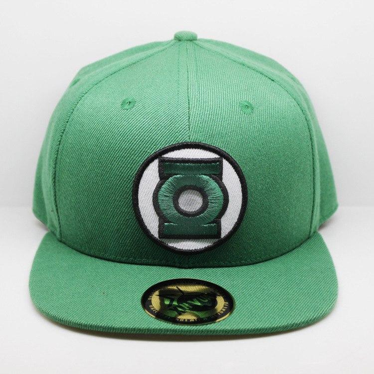 Кепка с символикой Green Lantern Зеленый Фонарь