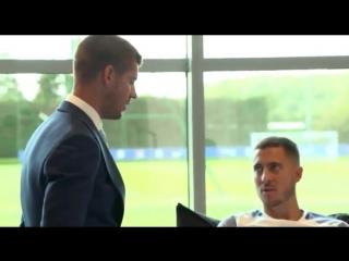 Презентация  Альваро Мораты и знакомства с игроками  Челси
