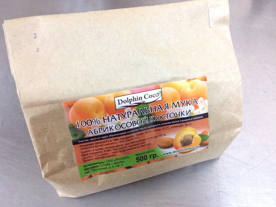 абрикосовая мука (уп.500 гр)