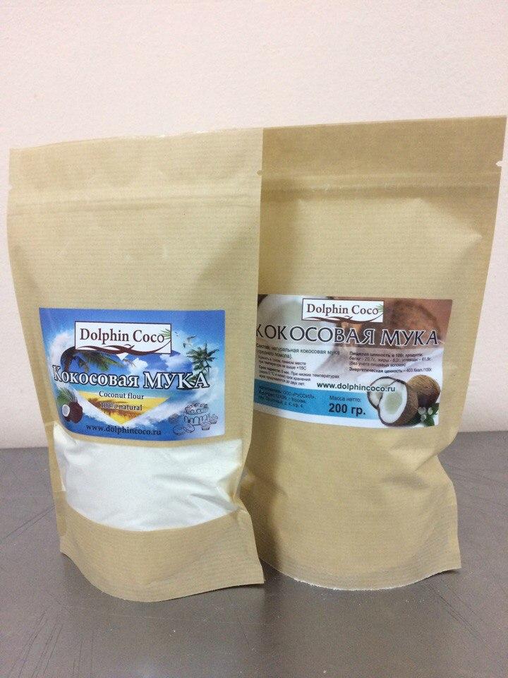кокосовая мука (200 гр)