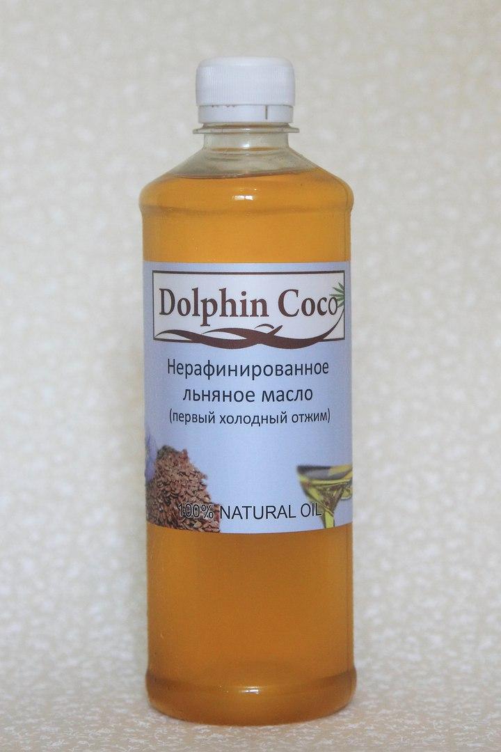 ЛЬНЯНОЕ масло (500 мл)