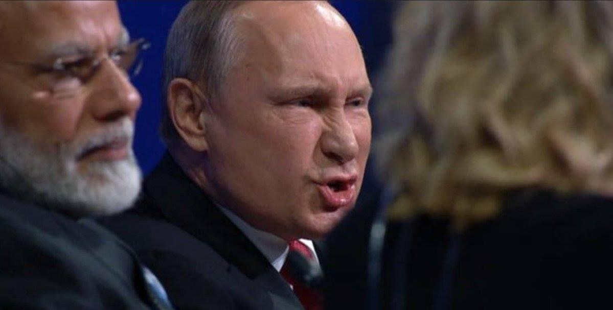 """Президент Владимир Путин об """"извращениях нашей истории"""""""