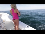Girls First Time Fishing- For Snapper Off The East Coast Of Florida, With Back To Blue Adventure - YouTube