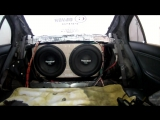 Alphard Hannibal FX38D2 x 2 от KICX 1.1000 ( bass , db , spl , sound , low , flex , alphard , чв, гц , audio )