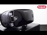 Очки Samsung Gear VR3 (SM-R324NZAASKZ), Orchid Gray распаковка (www.sulpak.kz)