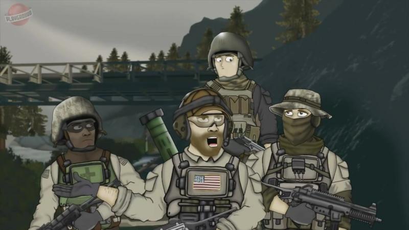 Друзья по Battlefield - 5 сезон - 1-5 серия
