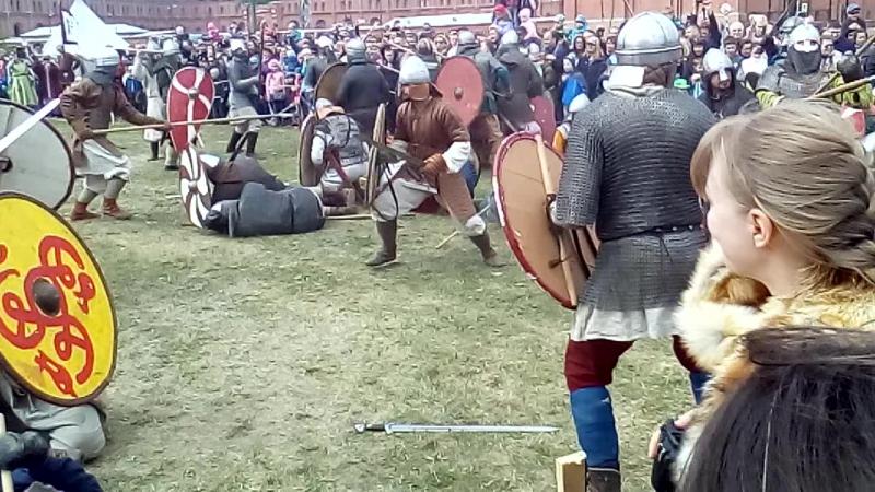 Столкновение воинов