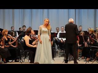 Оксана Антонова (сопрано). Сцена у канавки из оперы