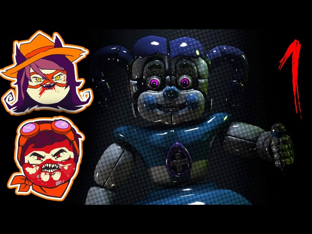 Five Nights at Freddy's Sister Location : Professional Vent Crawling - PART 1 - Steam Train