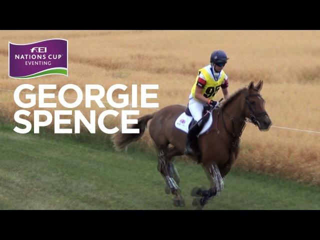 Individual Winner: Georgie Spence - All Performances | FEI Nations Cup™ Wiener Neustadt