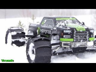 Arrma Nero Big Rock Snow Bash with Sling-Shots (Raw)