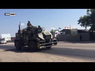 Одессу проехали три колонны украинской боевой техники ВСУ 2016 сегодня ато украина россия днр лнр