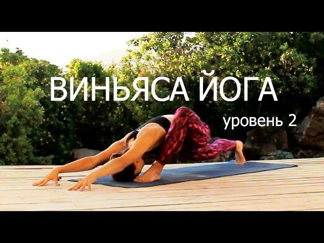 Виньяса йога уровень для продолжающих Все тело 40 min