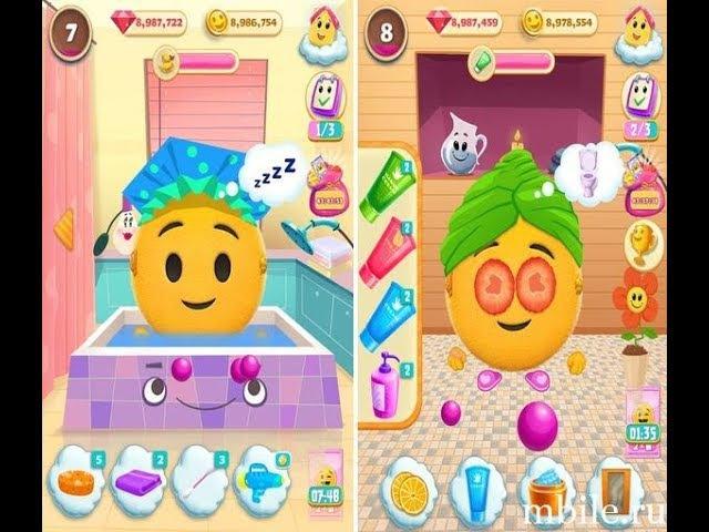 Жизнь смайла – Мой друг эмодзи(emoji life my smile friend).виртуальный питомец смайлик эмод ...